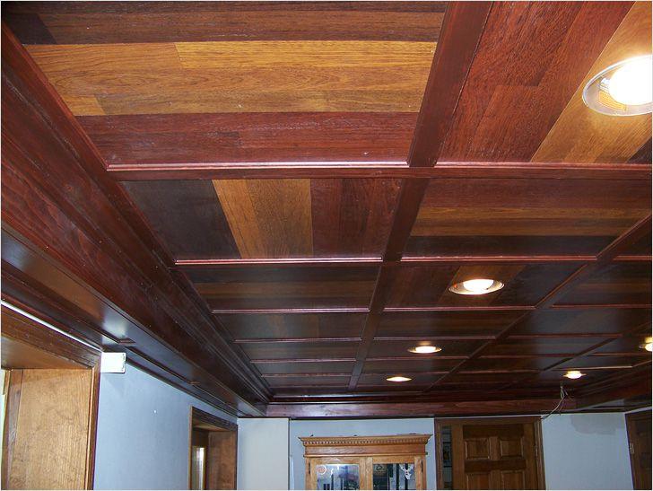 Имитация балки на потолке