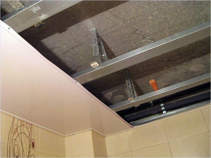 Монтаж подвесные потолки своими руками фото