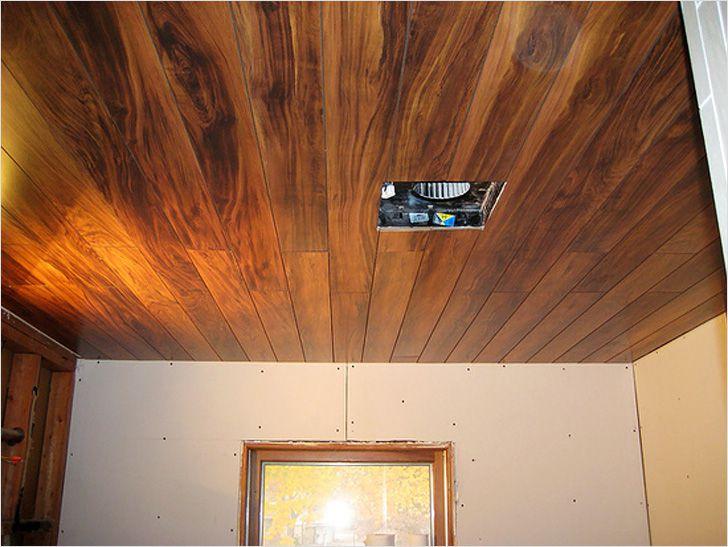 Потолок из ламината своими руками - ламинат на потолок