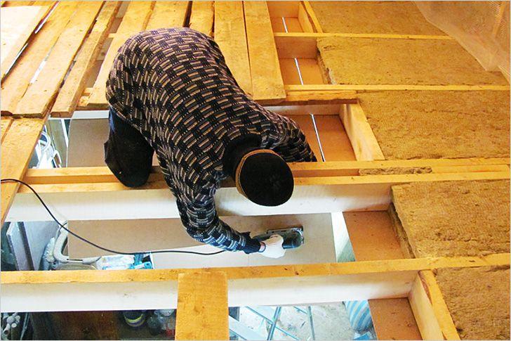 Как сделать черновой потолок в частном доме фото 931