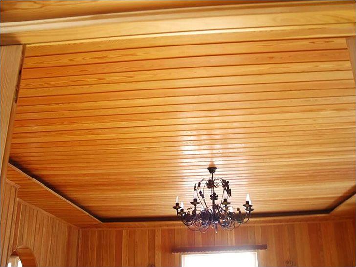 Чем отделать потолок в частном доме своими руками 2