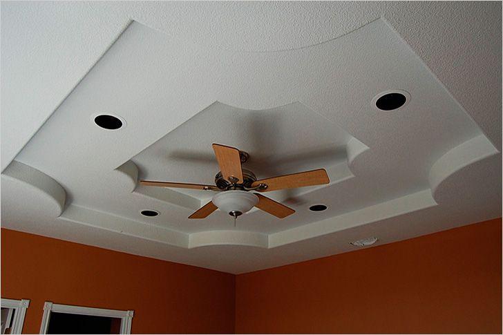 Шпаклёвка потолка из гипсокартона своими руками фото