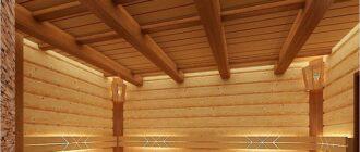 Чем обшить потолок в бане