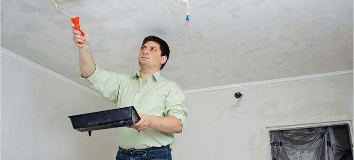 Как грунтовать потолок