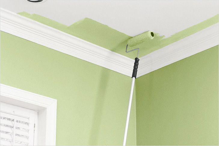 Чем покрасить потолок на кухне