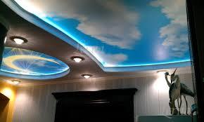 сюжетный натяжной потолок