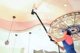 мыть глянцевый натяжной потолок